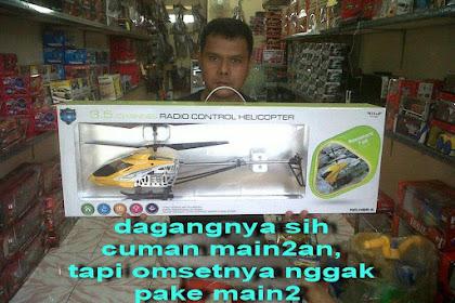 Channel Hobby, Toko Grosir Mainan RC Helikopter (Juga Melayani Servis & Menjual Spare Part)