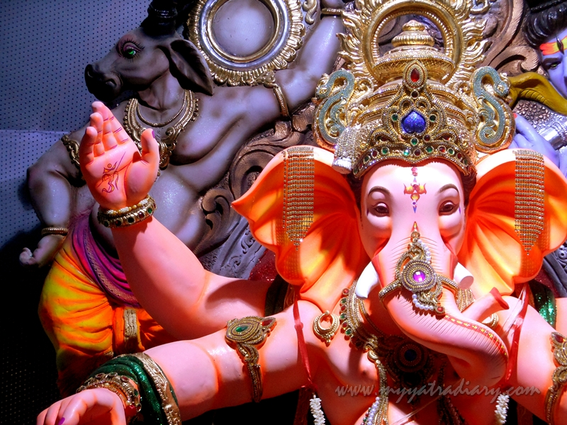 Ganapati - Lord of the Ganas, Ganesh Chaturthi Festival Pandal hopping, Mumbai