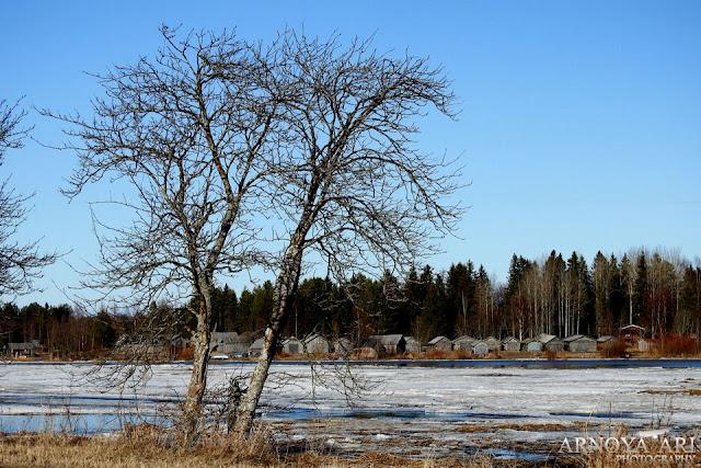 Kaukon kalalanssi Pohjankylä Pyhäjoki,  Kaukon kalalanssin vene-ja verkkoladot ovat rakennussuojelulailla suojeltuja.