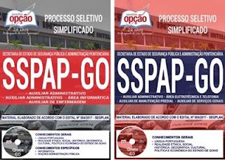 Apostila Concurso SSPAP-GO 2018