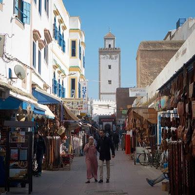 Mezquita en Essaouira