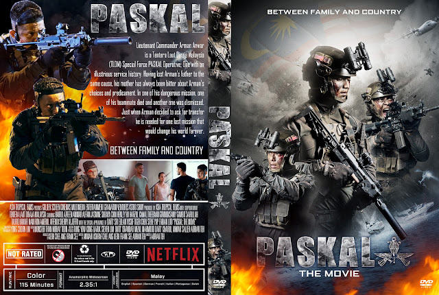Paskal: The Movie DVD Cover