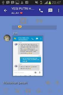 BBM MOD Tema Simply Blue v3.0.0.18 Apk Terbaru