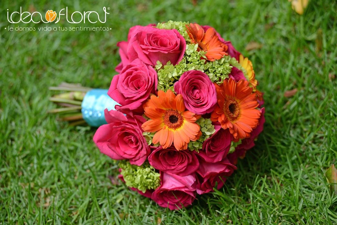COLOR ROSA PARA TU BODA | Idea Floral