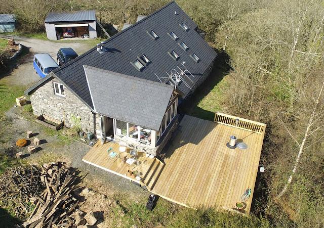 Timber decking WalesCymru