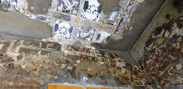 Ajanta cave 17 painting 2 - porch right wall - Dhanapala Narrative