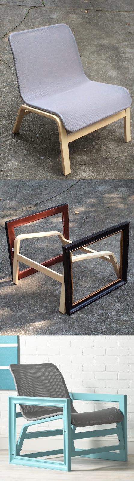 IKEA Hack: Photo Frame Chair