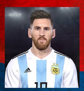 PES 2018 Facepack World Cup 2018 by Messi Pradeep