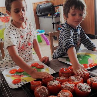 enfant cuisine recette facile tomates farcies été jardin photo claire rapide