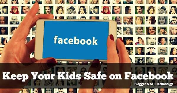 Safe your kids on facebook