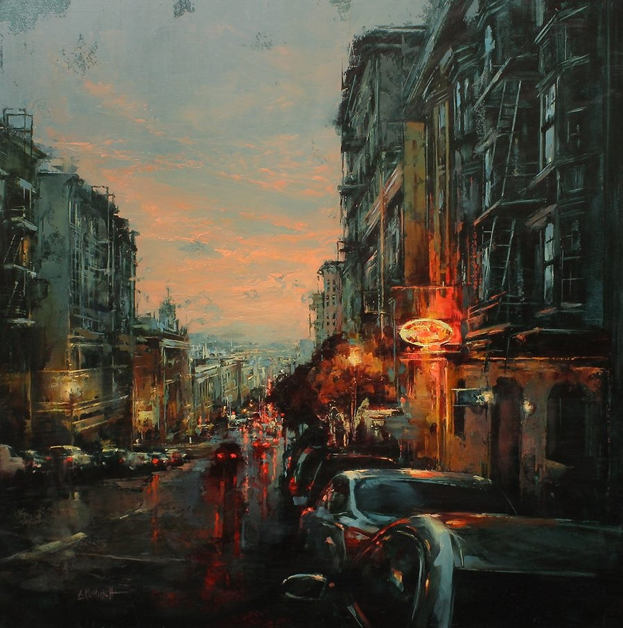 01-Lindsey-Kustusch-Urban-Goings-on-Captured-in-Oil-Paintings-www-designstack-co