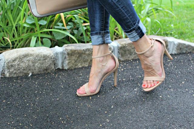 steve madden minimal sandal