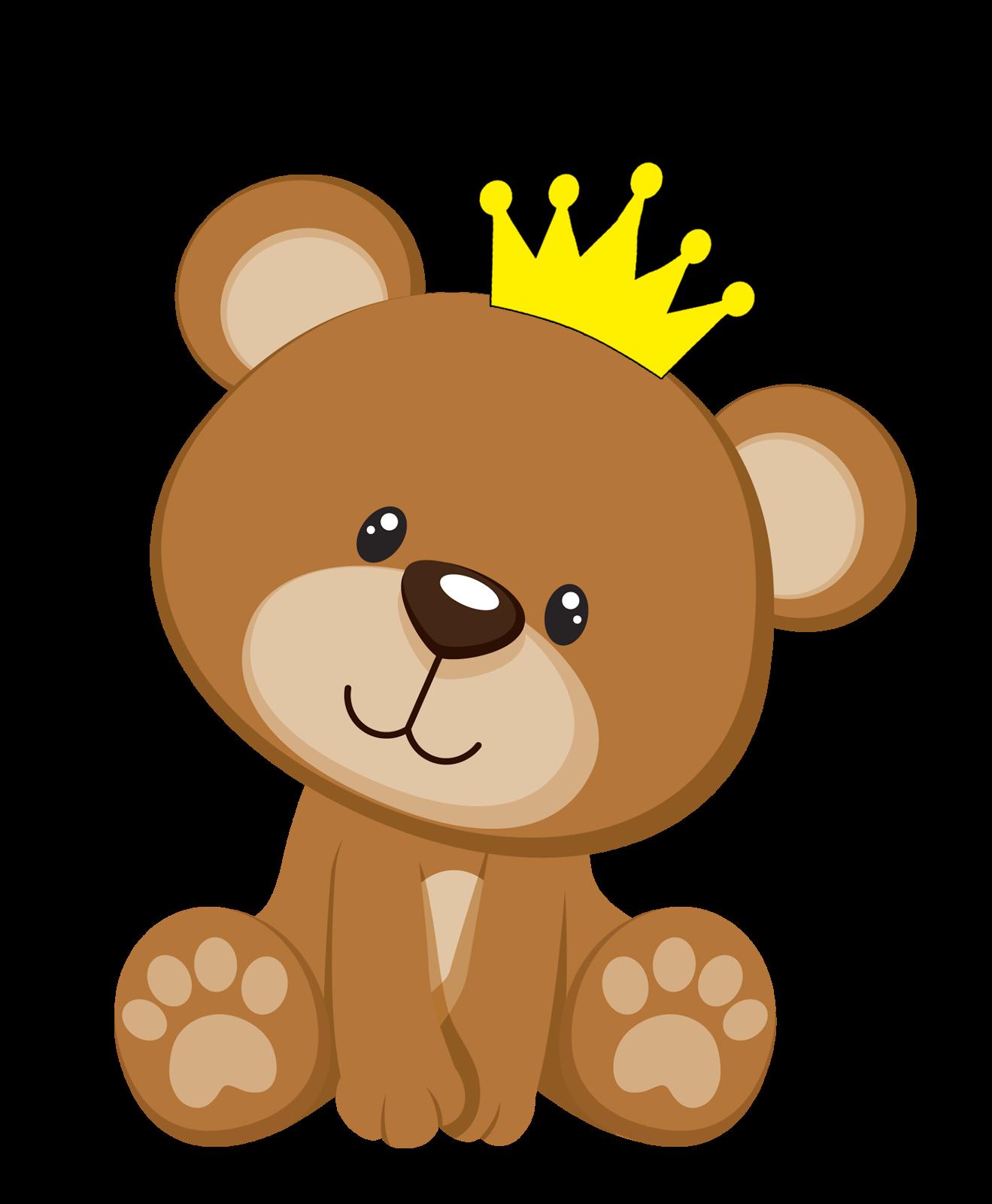 Bebe Ursinho Png ~ Convites Silverbeco Urso Príncipe