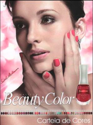 e0630e68a197e Isabel Hickmann é estrela da nova campanha da marca de esmaltes da beauty  color! Postado por Ana Hickmann News