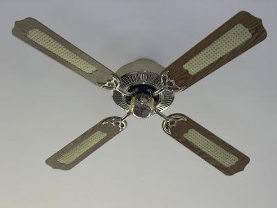 Вентилятор на стелі