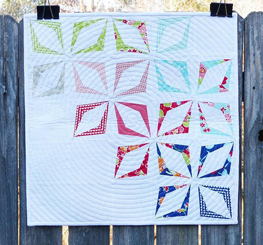Kite Block (Paper Pieced) Free Pattern