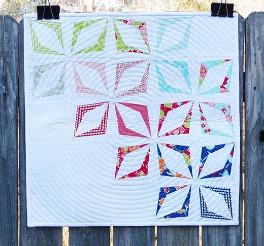 Kite Block (Paper Pieced) Free Pattern