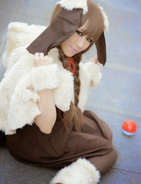 Pokemon Cosplay Cute Pokemon Human Girl Eevee Cosplay