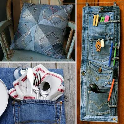 3 ideas para reciclar jeans viejos