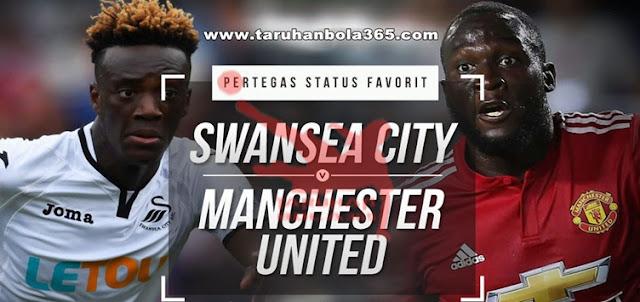 Prediksi Taruhan Bola 365 - Swansea vs Manchester United 19 Agustus 2017