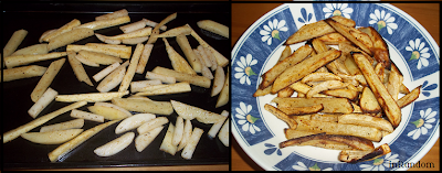 Parsnips Fries
