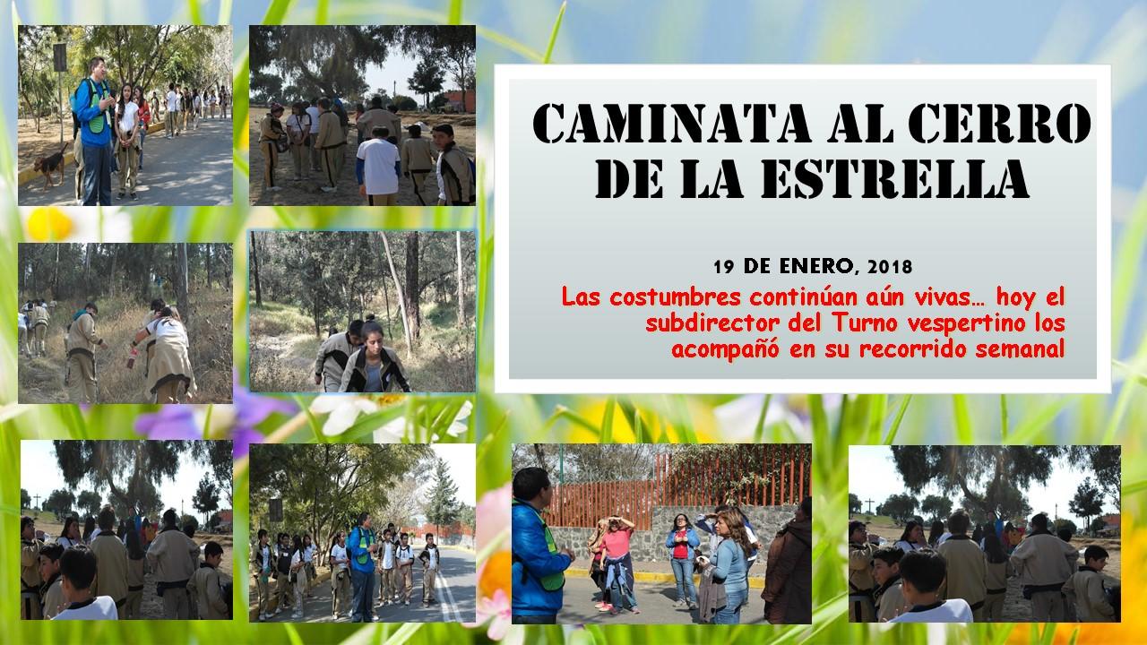 Blog Secundaria Técnica 29 : Caminata al Cerro de la Estrella 19 de ...