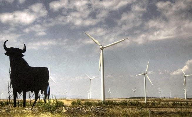 pembangkit listrik kincir udara spanyol