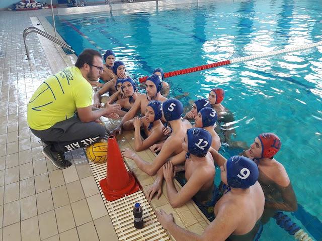 Νίκη του Ναυτικού Ομίλου Ναυπλίου απέναντι στην Καλαμάτα στο Εφηβικό πρωτάθλημα πόλο