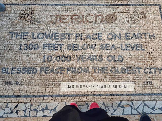 berkunjung ke jericho, kota terendah di dunia