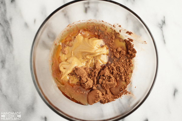 Dairy-free Chocolate Peanut Butter Shake