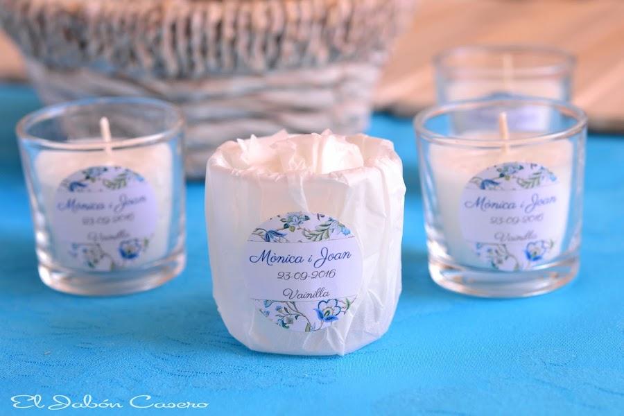 detalles de boda velas perfumadas personalizadas