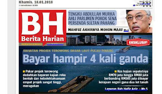 Kes Terowong Pulau Pinang: SPRM teliti unsur rasuah dalam pemberian kerja kajian reka bentuk dan kebolehlaksanaan