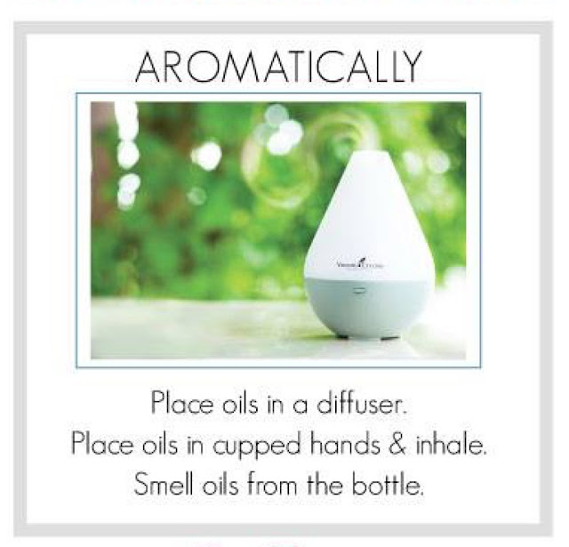 Ways you can use Essential Oils Aromatically