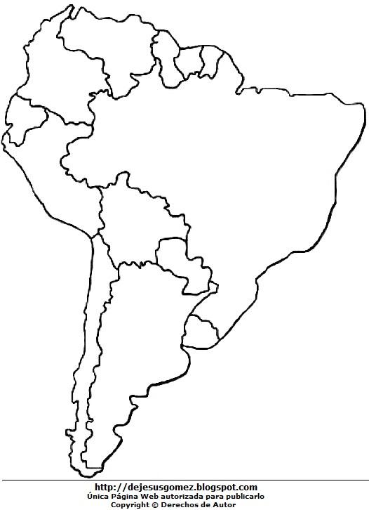 mapa de sudamerica para colorear - Vatoz.atozdevelopment.co
