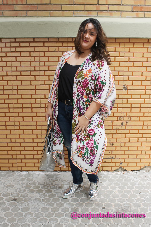 790c3e9ee9 Conjuntada SIN Tacones ♥  Maxi - Kimono