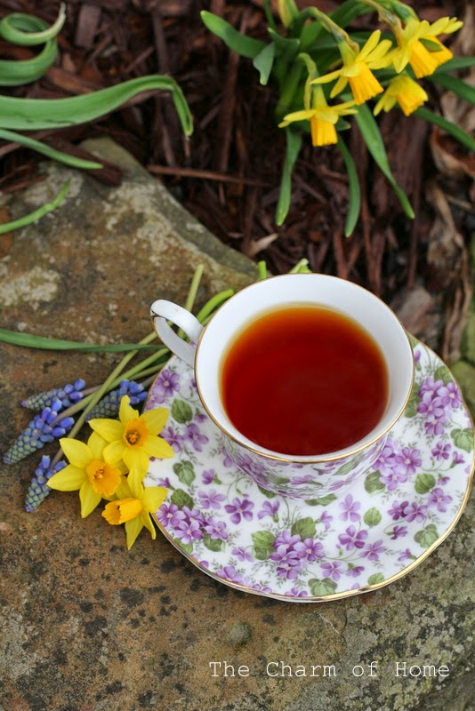 April Tea: The Charm of Home