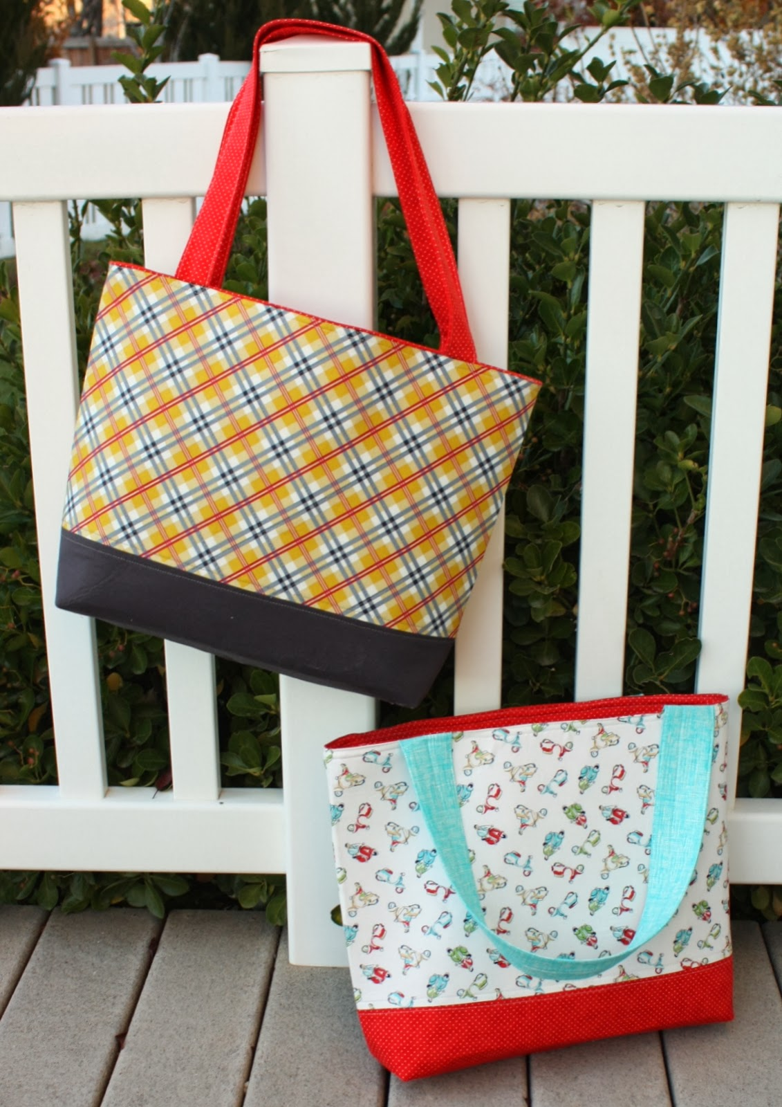 Simple sturdy tote bag tutorial jeuxipadfo Gallery