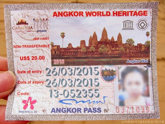 angkor pass prices