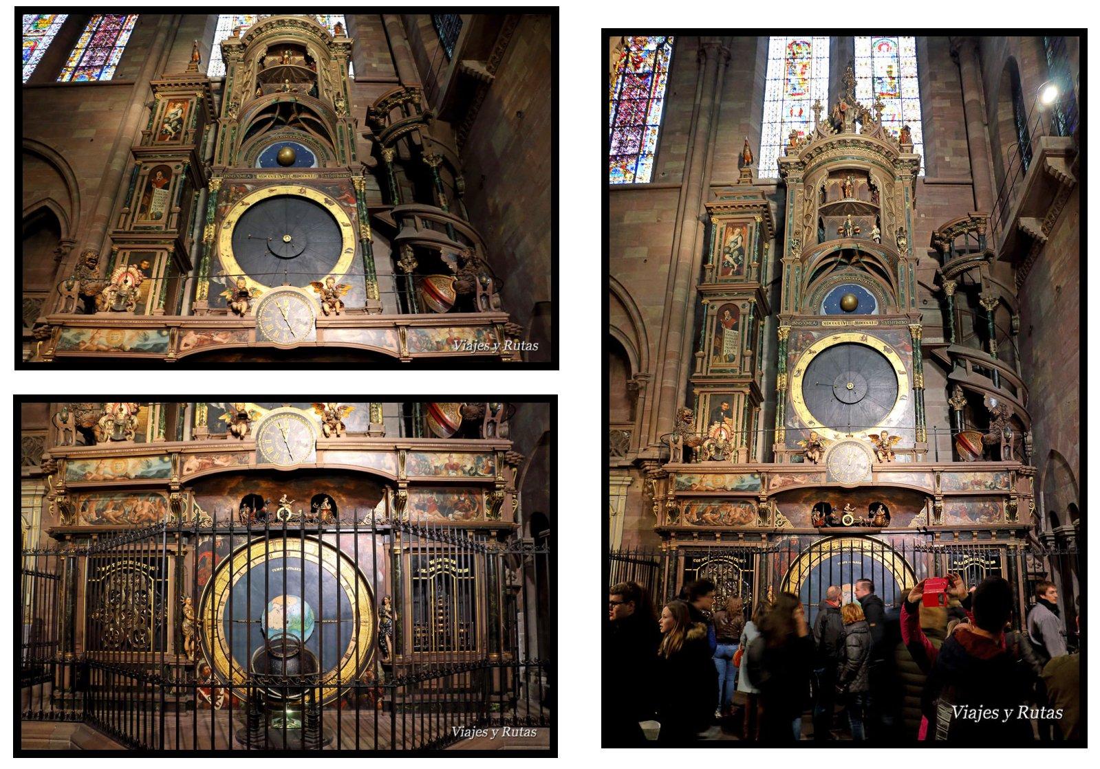 Reloj astronómico de la Catedral de Estrasburgo
