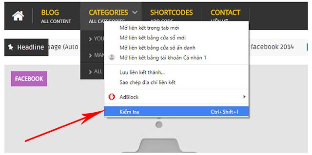 Chuyển Menu từ Widget Linklist sang Menu HTML tĩnh 1
