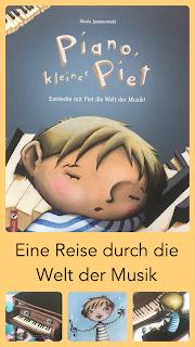 Bilderbuch Musikbuch Piano kleiner Piet Gloria Jasionowski