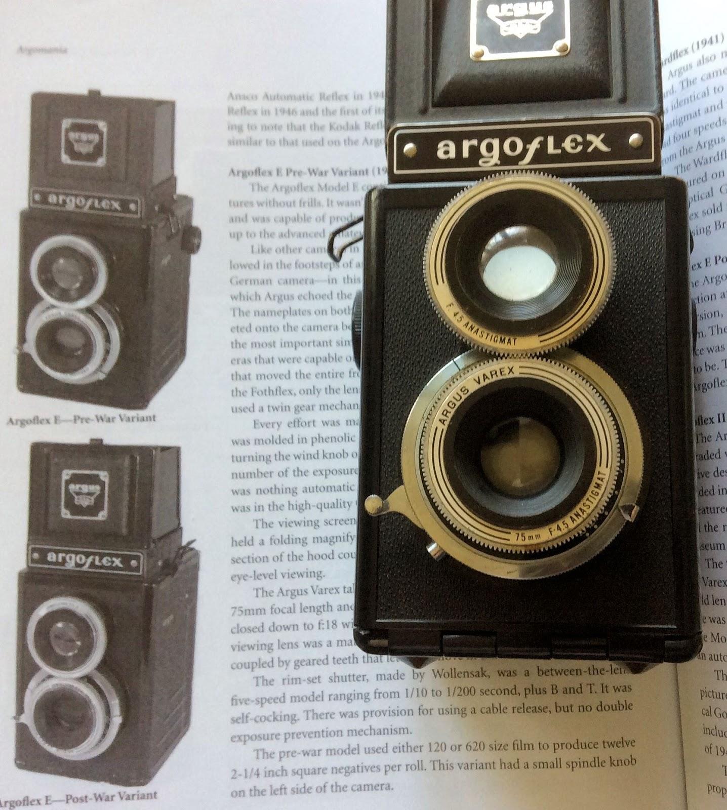 Random Camera Blog: The Argoflex E and 120 film