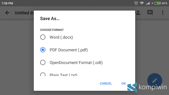 pdf reader google doc