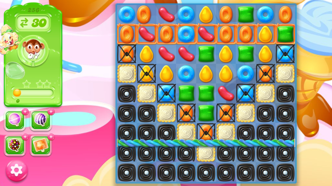 Candy Crush Jelly Saga 256