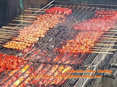 Mang Raul's BBQ Hotcoals