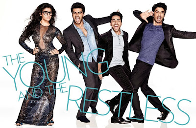 Ayushmann, Parineeti, Sushant Singh, Alia Bhatt and Arjun Kapoor cover Vogue India's November 2013 issue