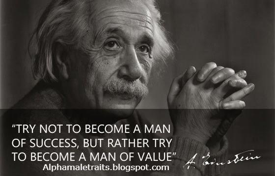 Einstein Quotes: Alpha Male Traits