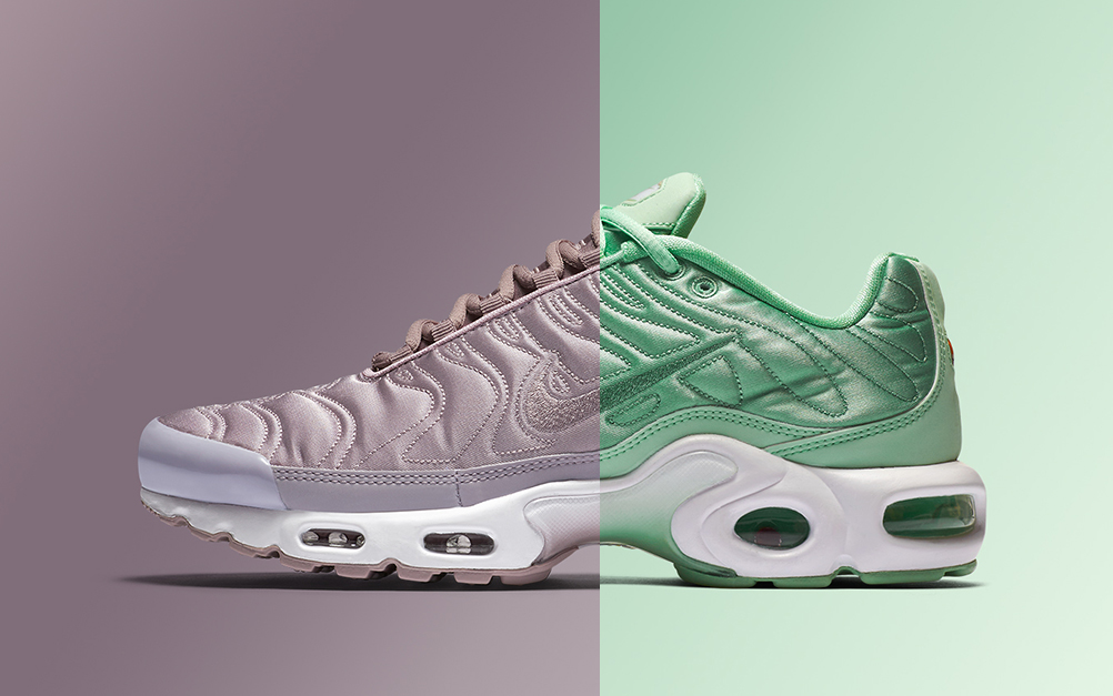 8b7de6c3debd ... where can i buy nike air max plus summer satin pack official images  sneaker news review