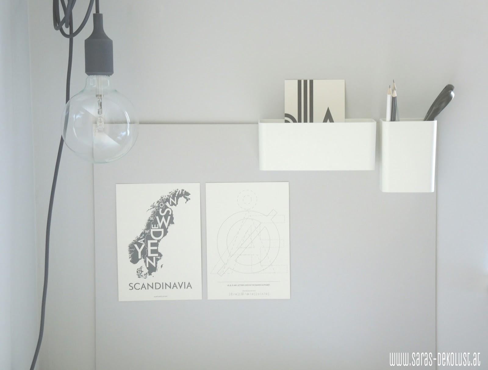 saras dekolust diy pinnwand im arbeitszimmer. Black Bedroom Furniture Sets. Home Design Ideas