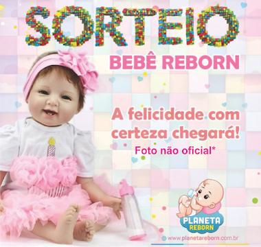 SORTEIO - BEBÊ REBORN